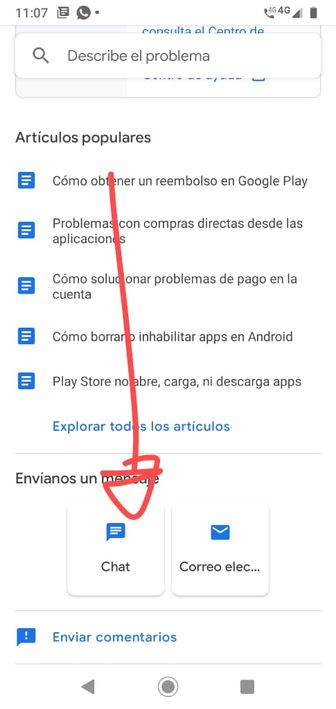 Google Play Contacto