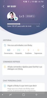 Gane experiencia con Bixby