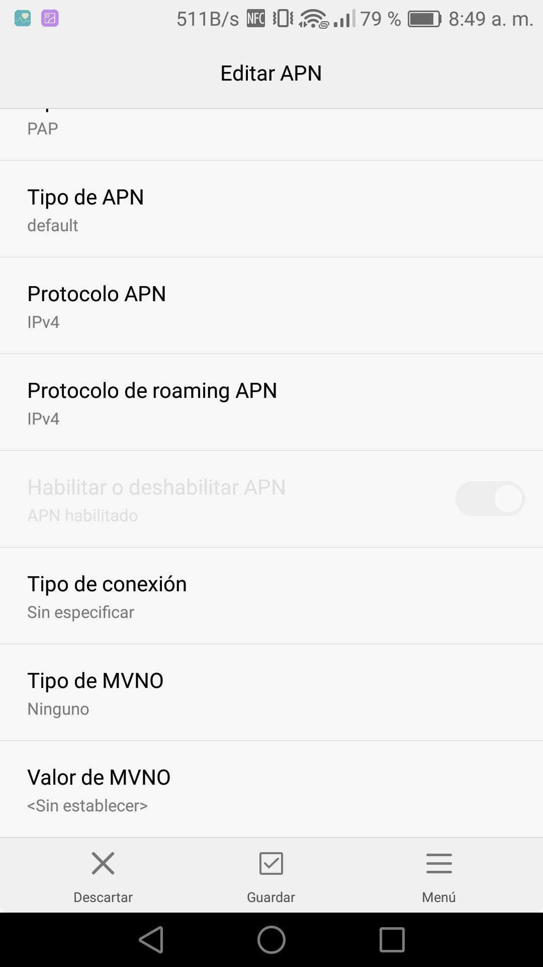 42f9b5b14d0 Solucionado: [Información] Configuración de APN - Comunidad Claro Perú