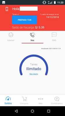 App Mi Claro - Saldo Prepago 1.png