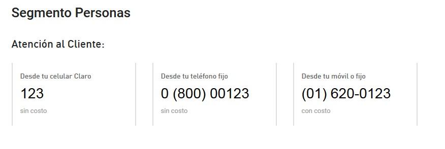 e47f3e81c38 Solucionado: ¿Números de atencion al cliente para llamar por 2P... - Comunidad  Claro Perú